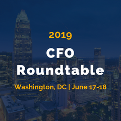 CFO Roundtable - June 17-18 in Washington, DC