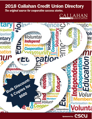 2018 Callahan Credit Union Directory (Book Only) - Bulk 5 Copies