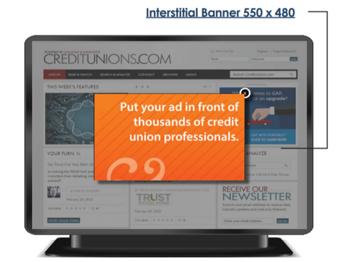Site Interstitial Banner