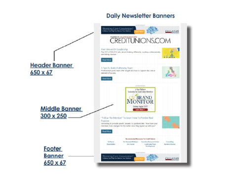 Digital Ads: Newsletter Banner Ad
