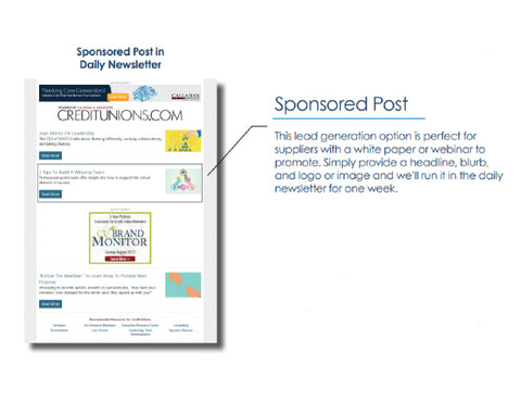 Digital Ads: Newsletter Sponsored Post