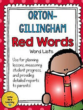 2nd Grade Orton Gillingham Reading Supplies