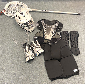 Girls Lacrosse Goalie Pads