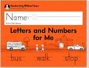 Handwriting Without Tears Program