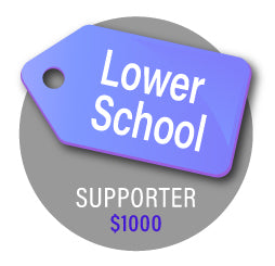 Lower School- Silver Cougar Giving Level