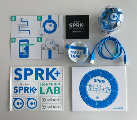 Lower School Sphero Spark Coding Robots