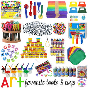 Pre-K3 Art/Craft Supplies