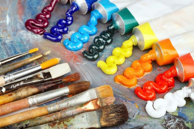 US art paint supplies