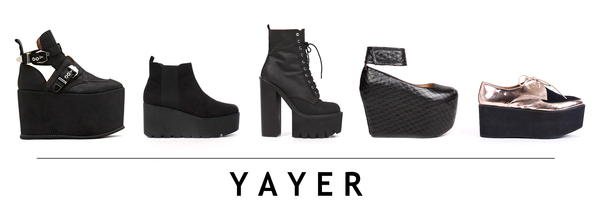 Jeffery Campbell available at YAYER