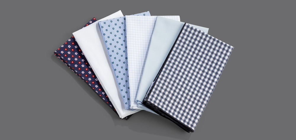 Mizzen+Main Pocket Squares
