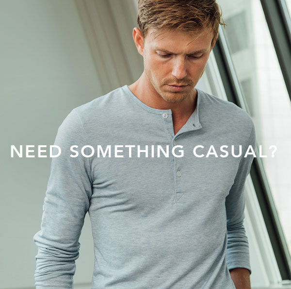 Looking for a casual shirt? Start here.