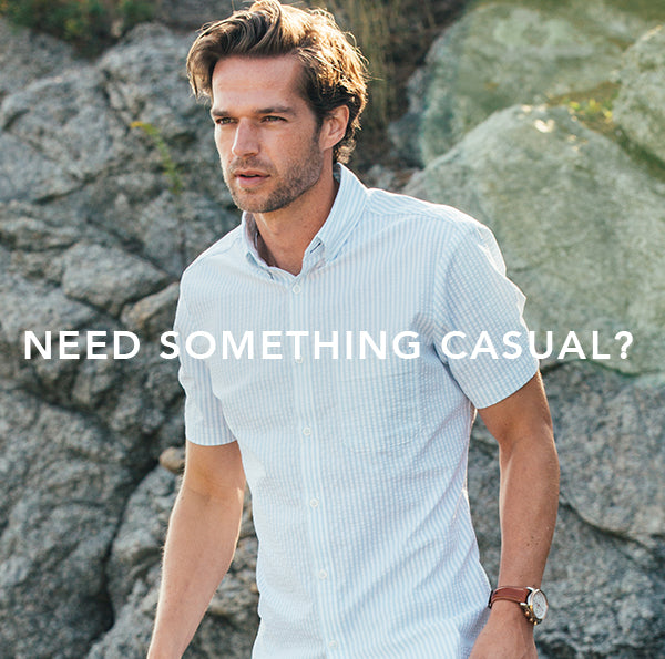 Need a casual shirt? Start here.