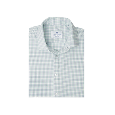 """Thames"" Illusion Blue/ Dusty Aqua/ Poseidon Gingham"