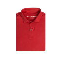 Springdale Solid Red Polo