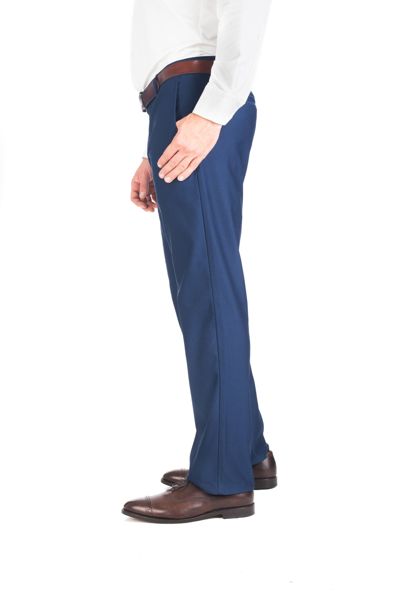 """Lewis"" Navy Performance Chinos"