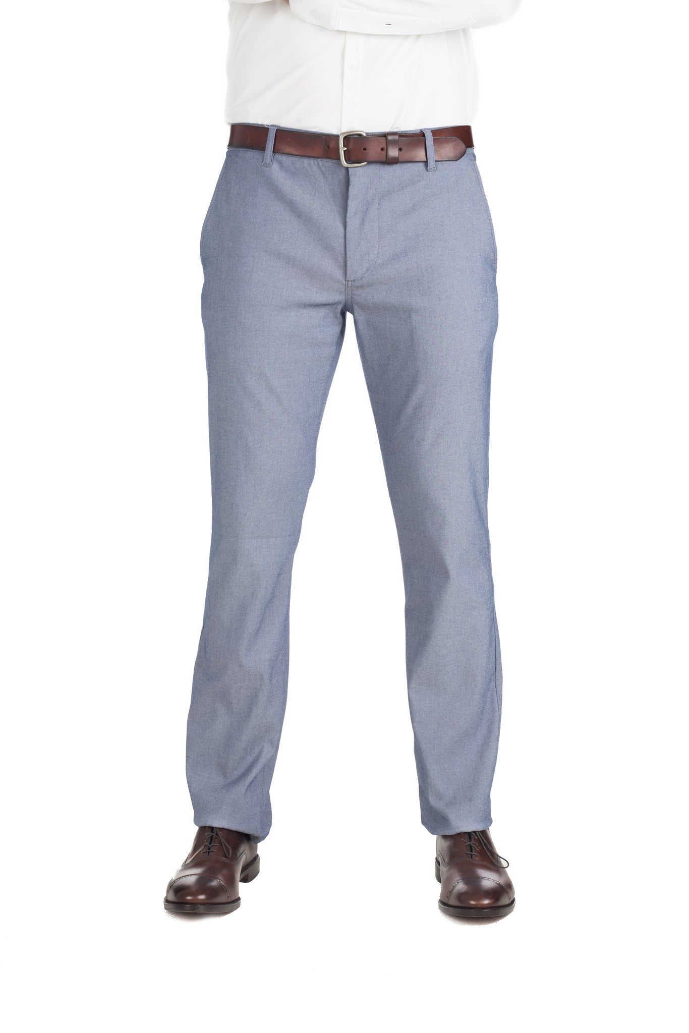 """Owens"" Gray Performance Chinos"
