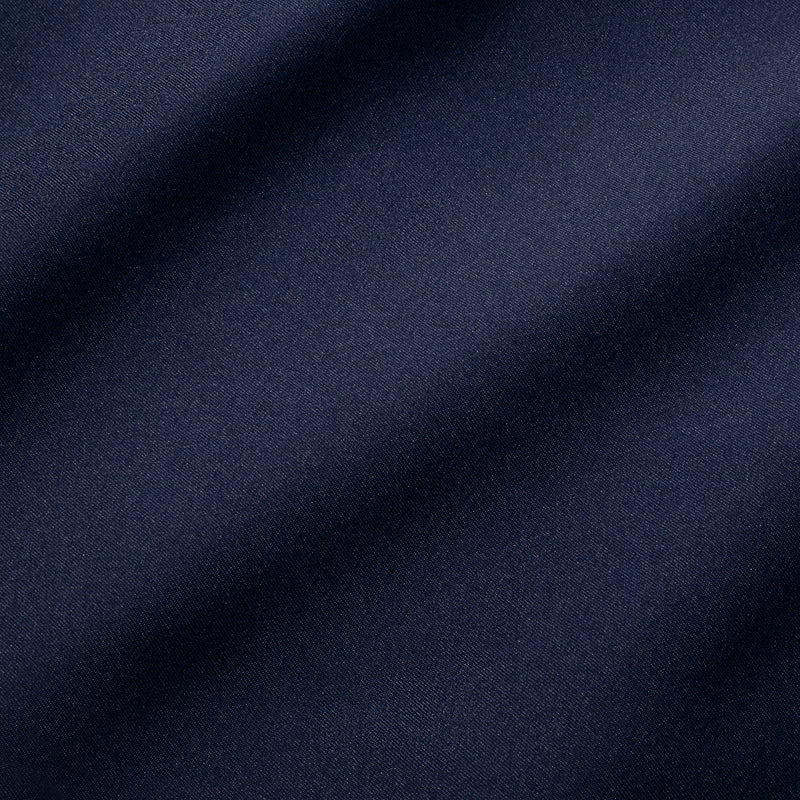Baron Chino - Navy Solid, fabric swatch closeup
