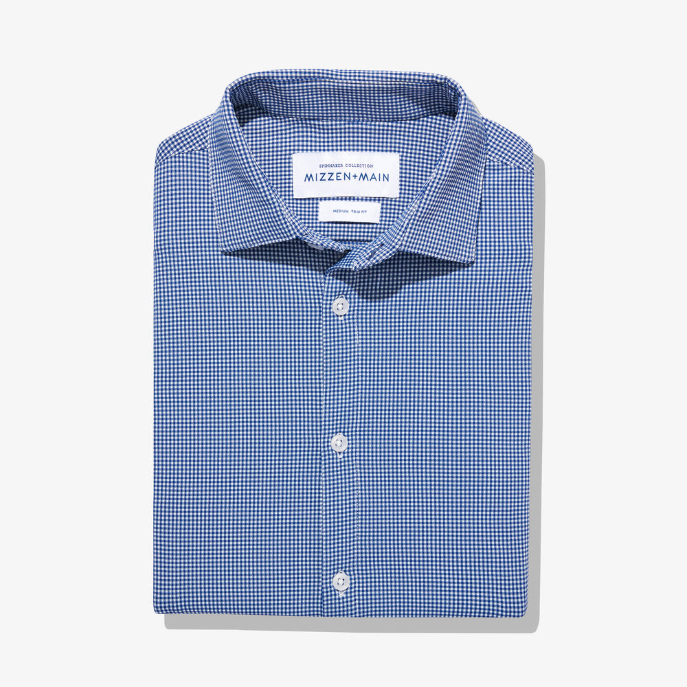Beckett - Blue Gingham, featured product shot