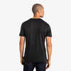 Upton Luxe Tee - Black Solid, lifestyle/model photo