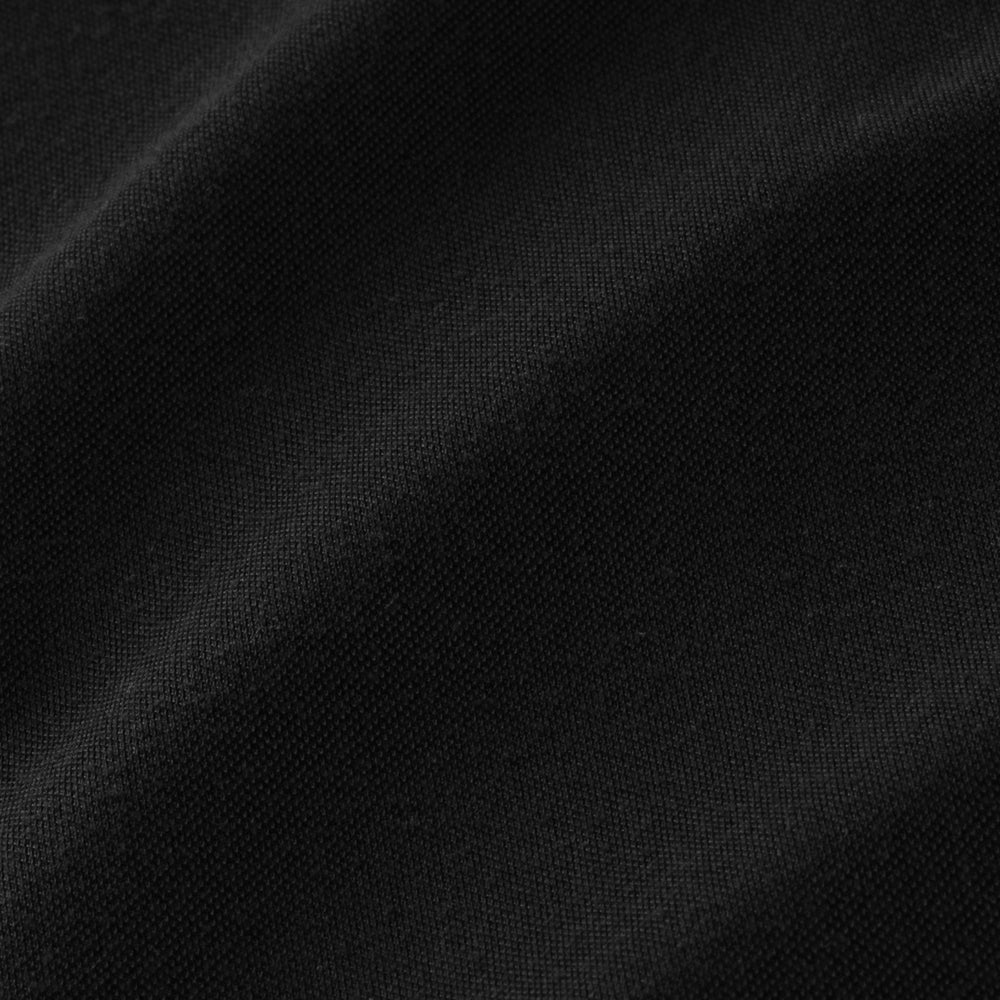 Luxe Tee - Black, fabric swatch closeup