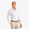 Spinnaker Dress Shirt - Bright White, lifestyle/model photo