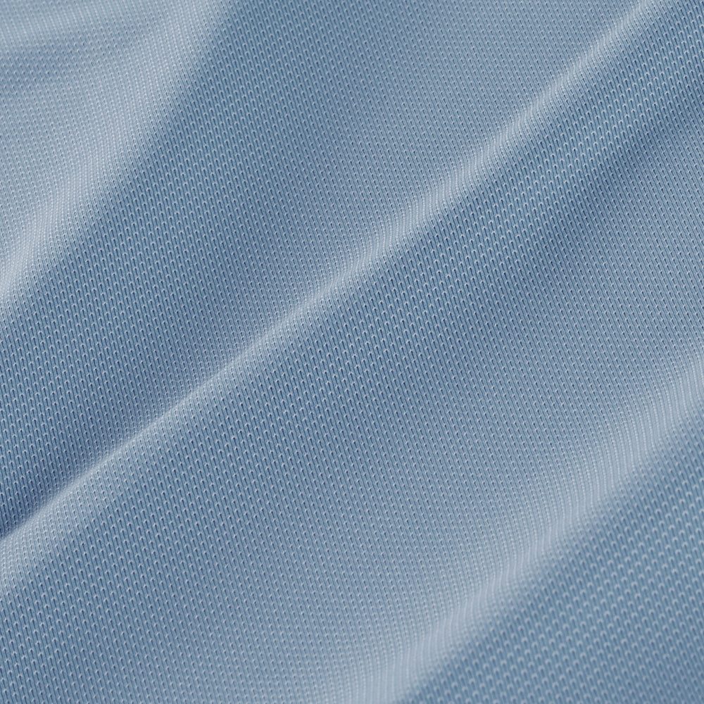 Cunningham - Light Blue Solid, fabric swatch closeup