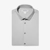 Cunningham Dress Shirt - Light Gray Solid, featured product shot