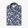Capri Camp Shirt - Navy Aqua Floral Print, featured product shot