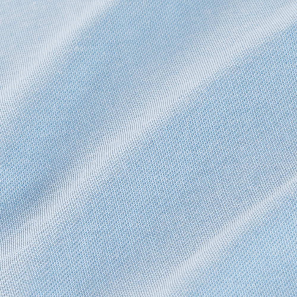 Bryant - Light Blue Knit, fabric swatch closeup