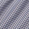 Spinnaker Dress Shirt - Gray Mini Gingham, fabric swatch closeup