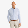 Leeward Dress Shirt - Navy Light Blue Tattersall, lifestyle/model photo