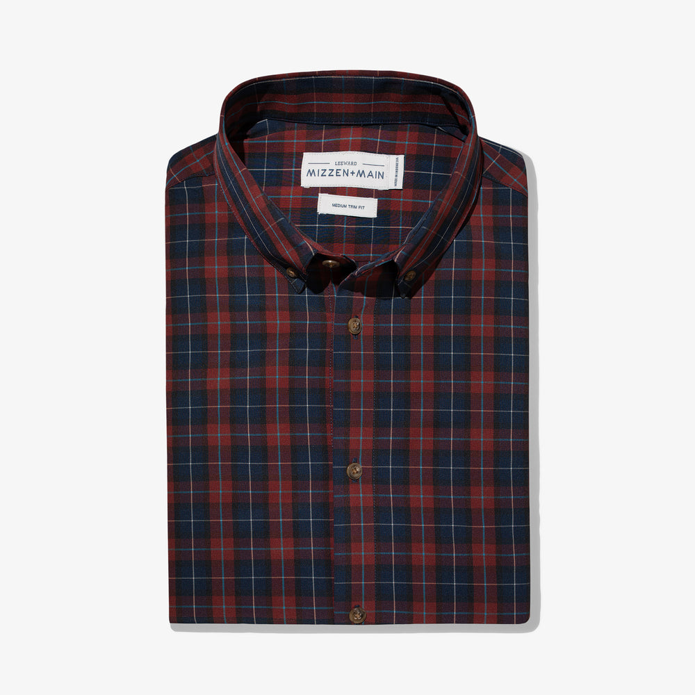Leeward - Navy Red Multi Plaid, featured product shot