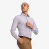 Leeward Dress Shirt - Red Blue Tattersall, lifestyle/model photo