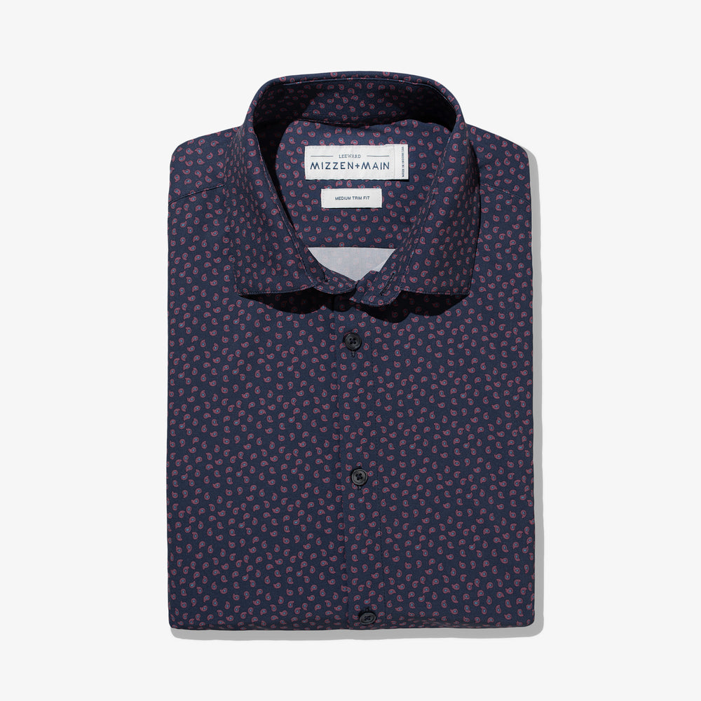 Flynn - Navy Paisley Print, featured product shot