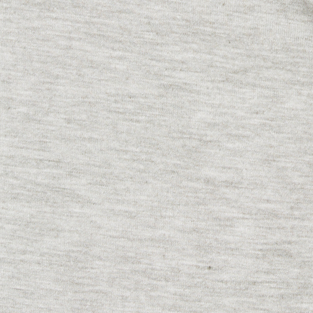 Inca - Heather Gray Henley, fabric swatch closeup