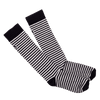 Striped Navy Sock