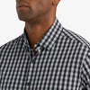Leeward Dress Shirt - Black Gray Gingham, lifestyle/model photo