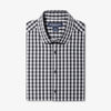 Leeward Dress Shirt - Black Gray Gingham, featured product shot