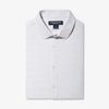 Leeward Dress Shirt - Navy Gray Dot Print, featured product shot