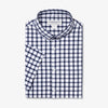 Leeward Short Sleeve - Navy Large Check, featured product shot
