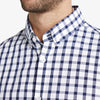Leeward Short Sleeve - Navy Large Check, lifestyle/model photo
