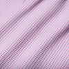 Leeward Dress Shirt - Red Navy Mini Check, fabric swatch closeup