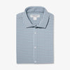 Leeward Dress Shirt - Aqua Gray Gingham, featured product shot