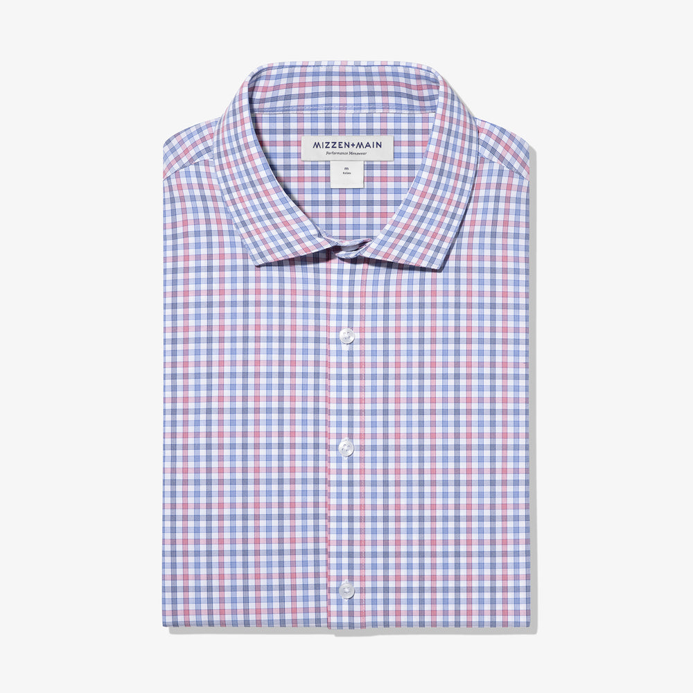 Leeward - Red Blue Check, featured product shot