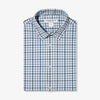 Leeward Dress Shirt - Navy Aqua Multi Check, featured product shot