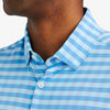 Lightweight Leeward Dress Shirt - Blue Gingham, lifestyle/model photo