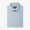 Lightweight Leeward Dress Shirt - Light Blue Check, featured product shot