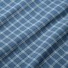 Lightweight Leeward Short Sleeve - Navy Aqua Check, fabric swatch closeup