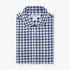 Lightweight Leeward Dress Shirt - Navy White Check, featured product shot