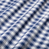Lightweight Leeward Dress Shirt - Navy White Check, fabric swatch closeup